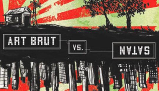 Art Brut vs Satan art
