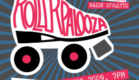 Rollerpalooza poster