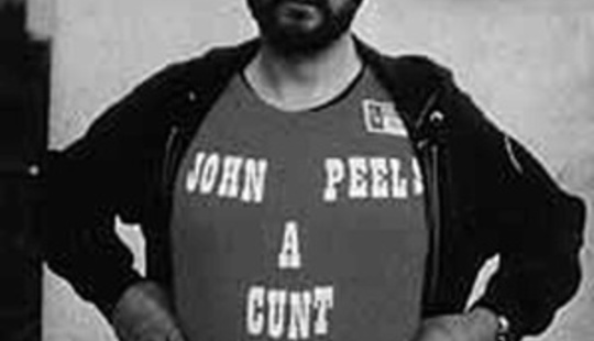 From http://cherrybombed.com/wp-content/uploads/2008/04/john-peel-thinks-john-peels-a-cunt.jpg