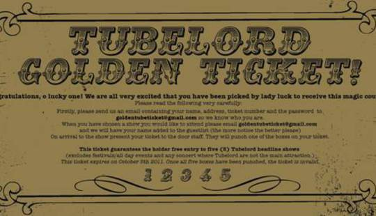 Tubelord Golden Ticket
