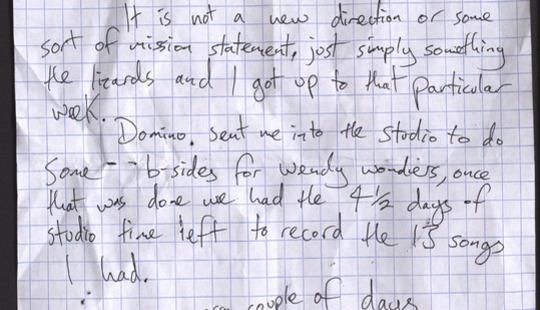 Eugene Handwritten Letter