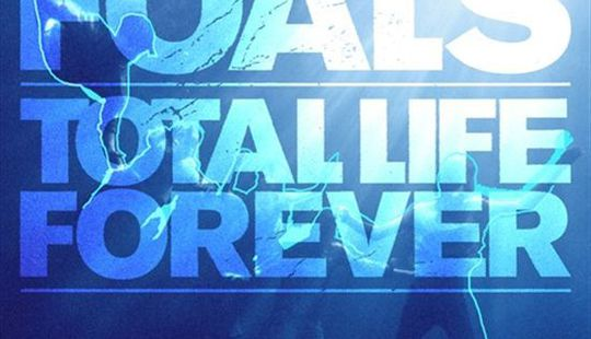 Foals total life forever cover packshot artwork