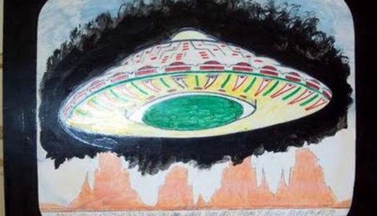 Royal Robertson - UFO