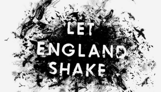 PJ Harvey let england shake artwork cover sleeve