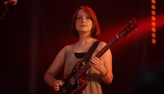 MIA from Electrelane at La Route du Rock
