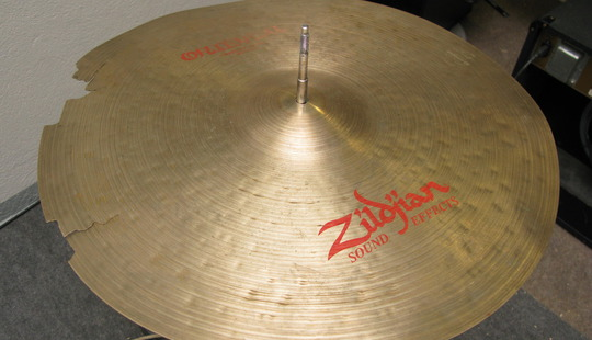 Zildjian 20 inch Oriental Crash of Doom