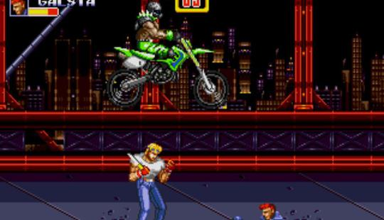 savage pixels streets of rage