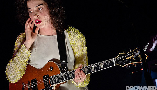 St. Vincent at Queen Elizabeth hall in London