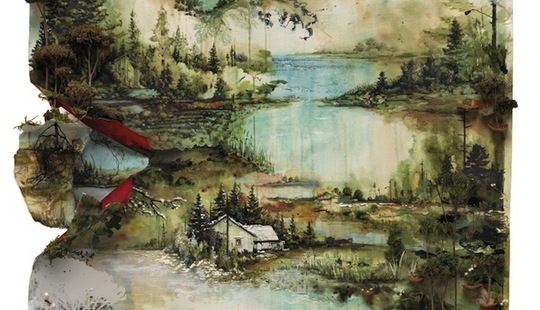 bon iver album artwork 2011