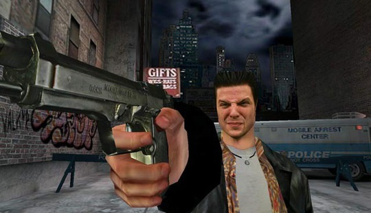 From http://images.wikia.com/maxpayne/images/b/b1/Welcome<em>to_the</em>World<em>of_Max</em>Payne.jpg