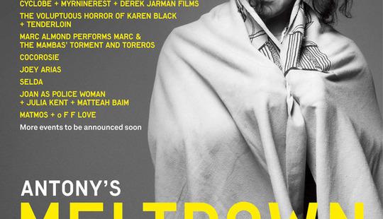 Antony Meltdown 2012 poster