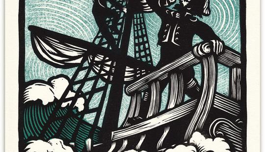 Peter Nevins - Sir Patrick Spens print