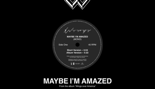 Wings - Maybe I'm Amazed - Record Store Day