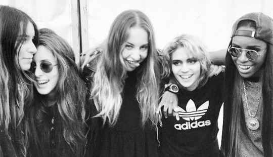 Angel Haze Grimes Haim