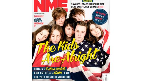 NME Haim Palma Violets
